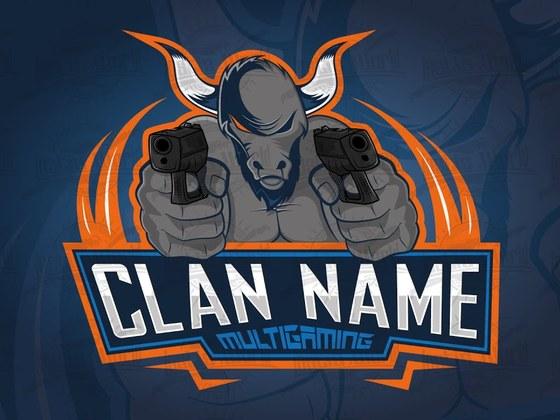 Created a Bad Bull eSports logo