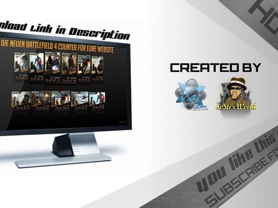 Speedart - Creating a Battlefield 4 Counter