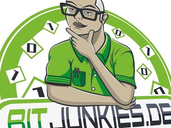 BitJunkies logo finishing