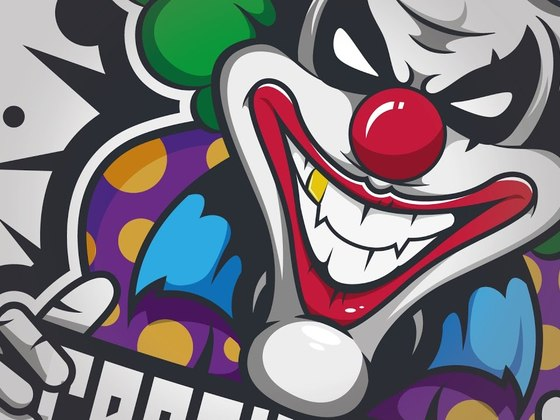 Finishing the Clownsdude logo