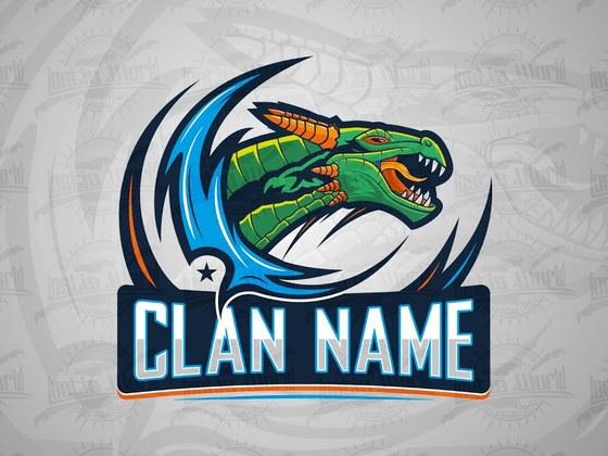 Created a Dragon Team Logo - eSports