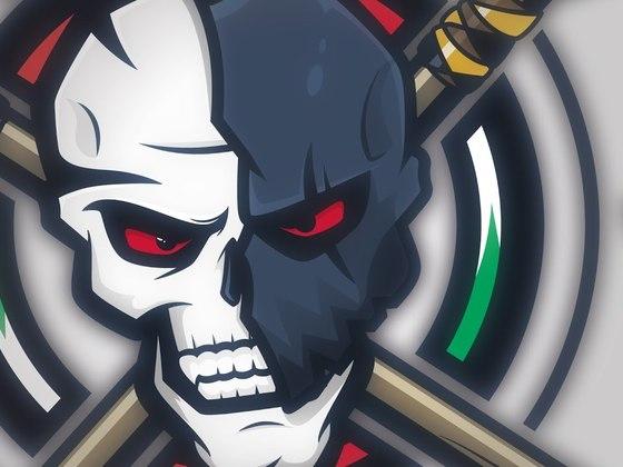 Sparta Skull eSports mascot