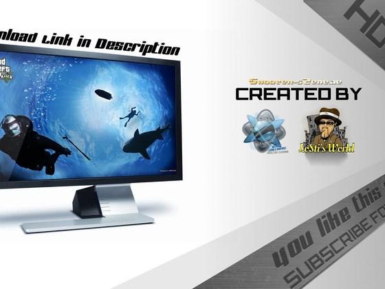 Speedart - Creating a GTA 5 Wallpaper [Diving]