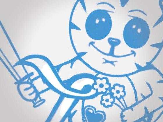 Designed the Liszys cat logo