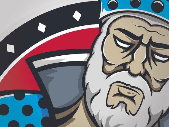 Created a Mad Kings eSports logo