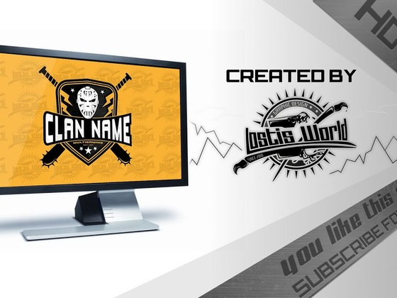 Creating a Mask Clan logo (eSports)