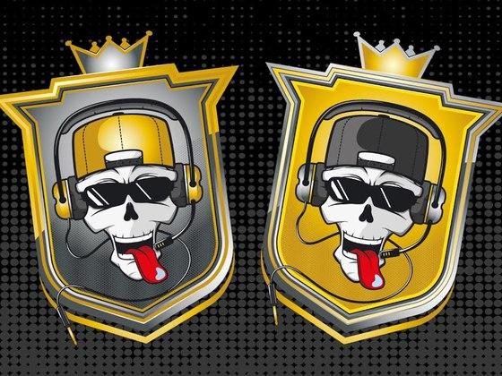 Creating the Royal Chaos Crew Team logo ( eSports )