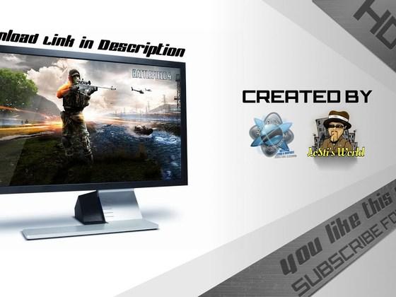 Speedart - Creating a Battlefield 4 Wallpaper
