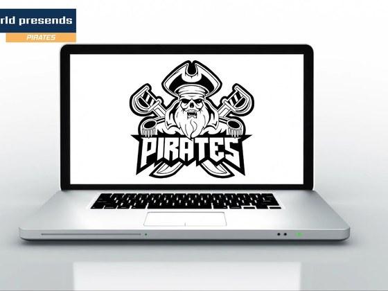 Drawing a Pirates eSports team logo