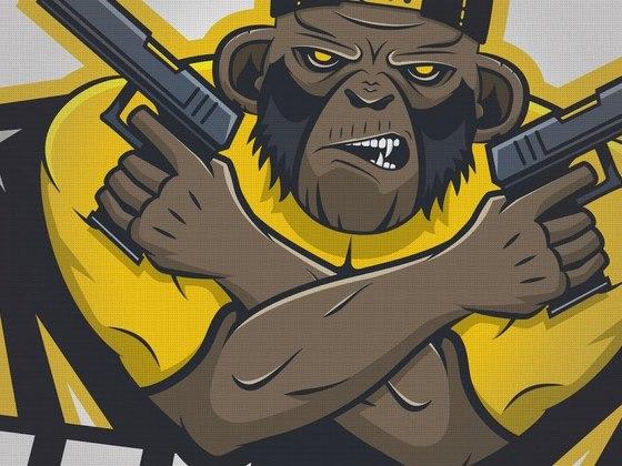 Creating the Apeboys eSports mascot logo