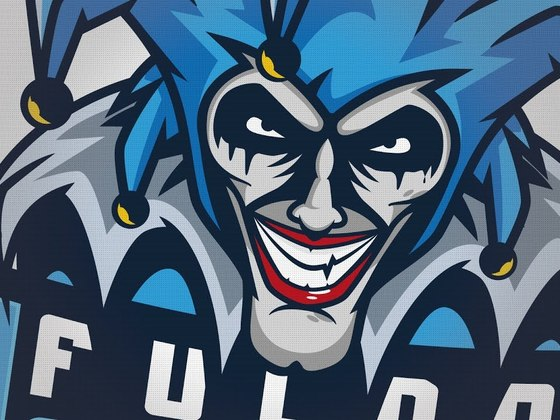 Created the Fulda Jesters mascot logo