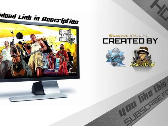 Speedart - Creating a GTA 5 Wallpaper