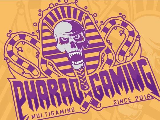 Designed a Pharao eSports team logo