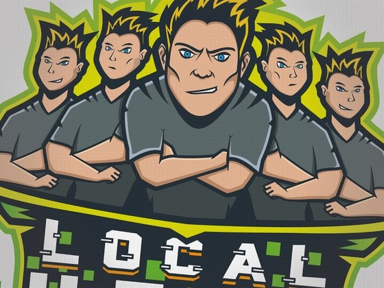Creating the LocalHost logo