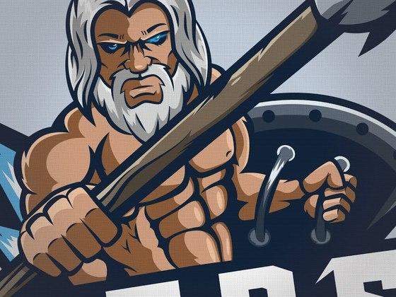 Gods eSports mascot logo