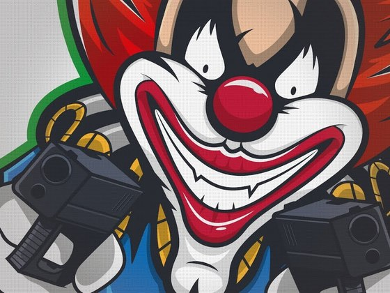 Deadly Serious Clowns Mascot design