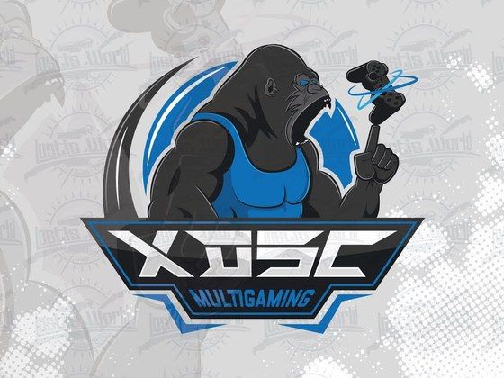 Created the xDSc eSports team logo