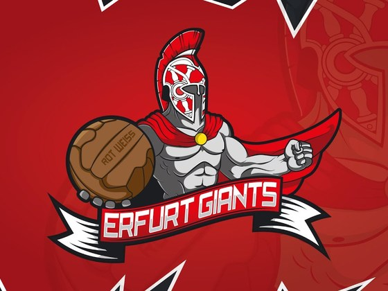 Created the Erfurt Giants logo