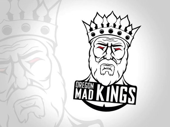 The Oregon Mad Kings logo sketch