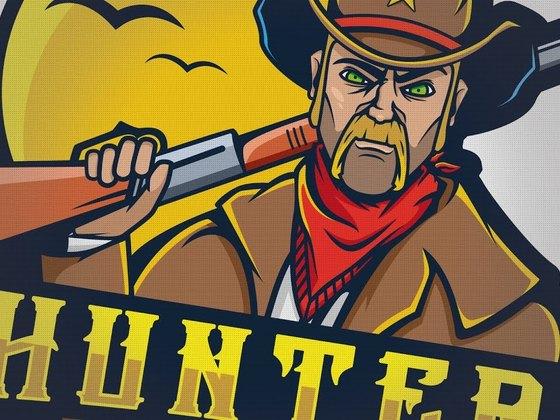 Creating a Cowboy (Hunters) eSports mascot logo