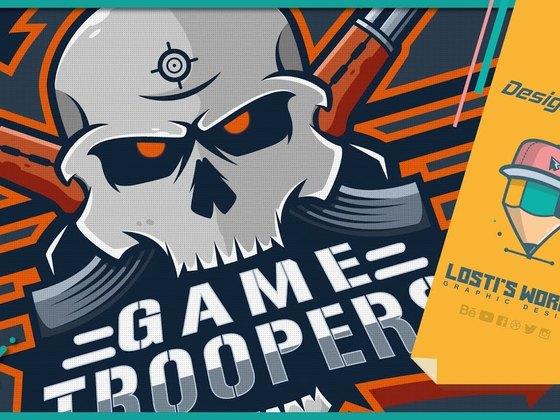 GameTroopers Mascot logo